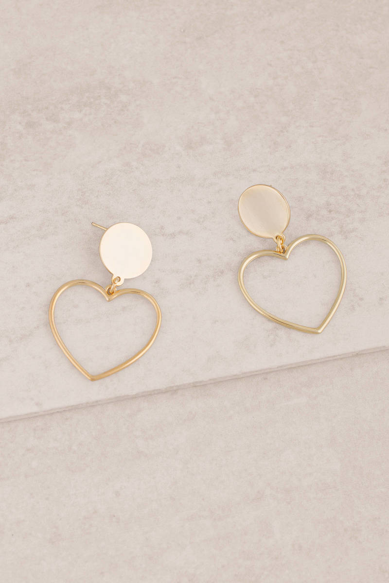 listing il heart earrings gold shaped qejb rose fullxfull stud diamond