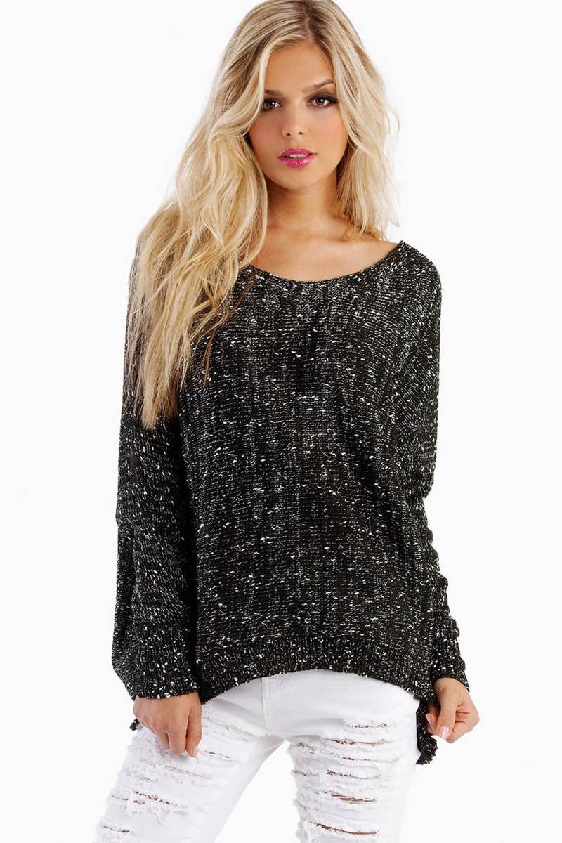 Alyssa Off Shoulder Sweater