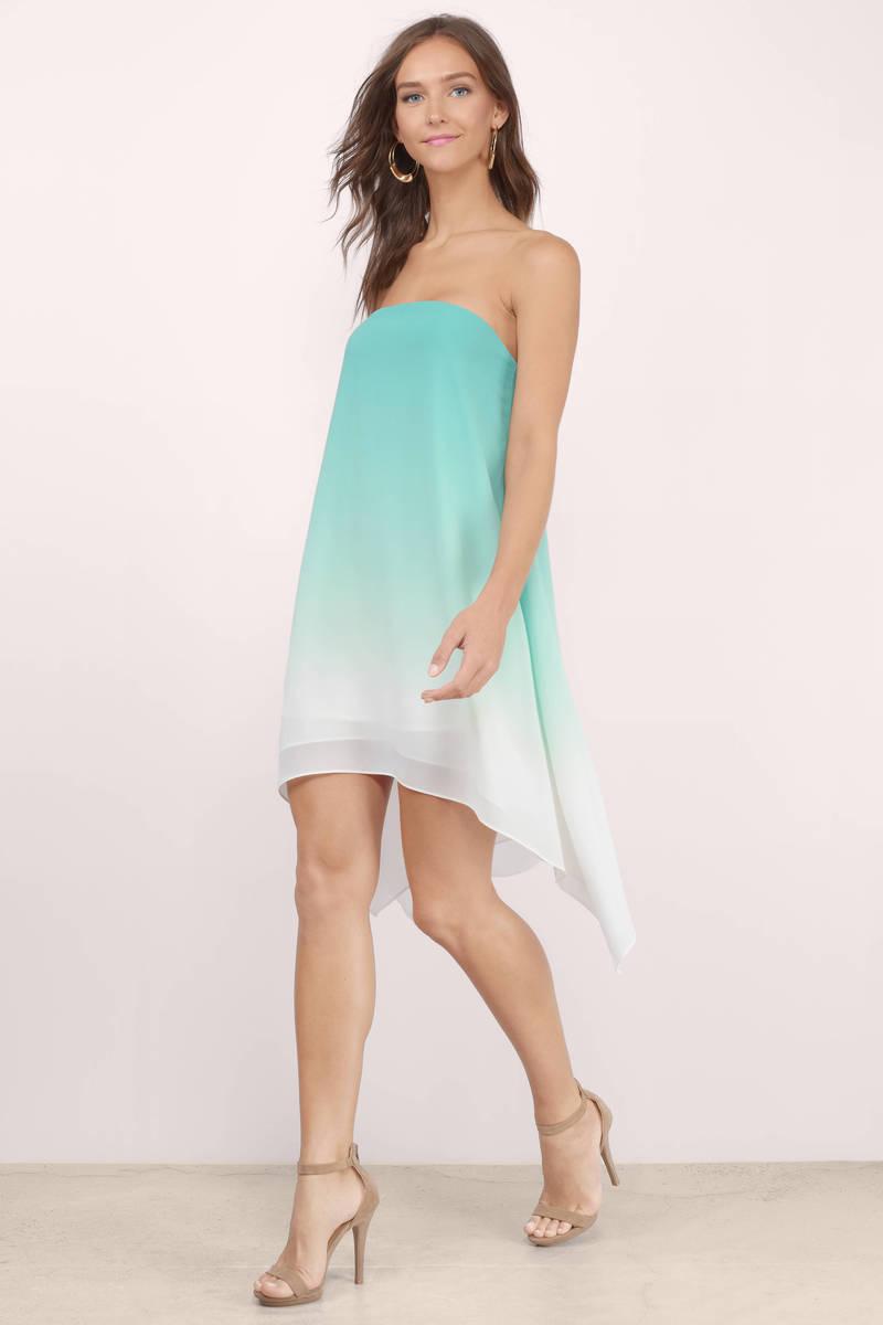 In My Soul Grey Ombre Dress