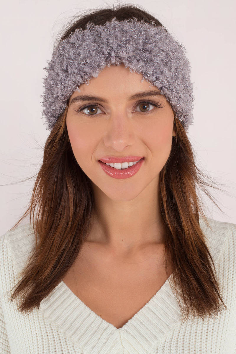 Alessa Grey Furry Headband - AU  13  6a026d97d5f