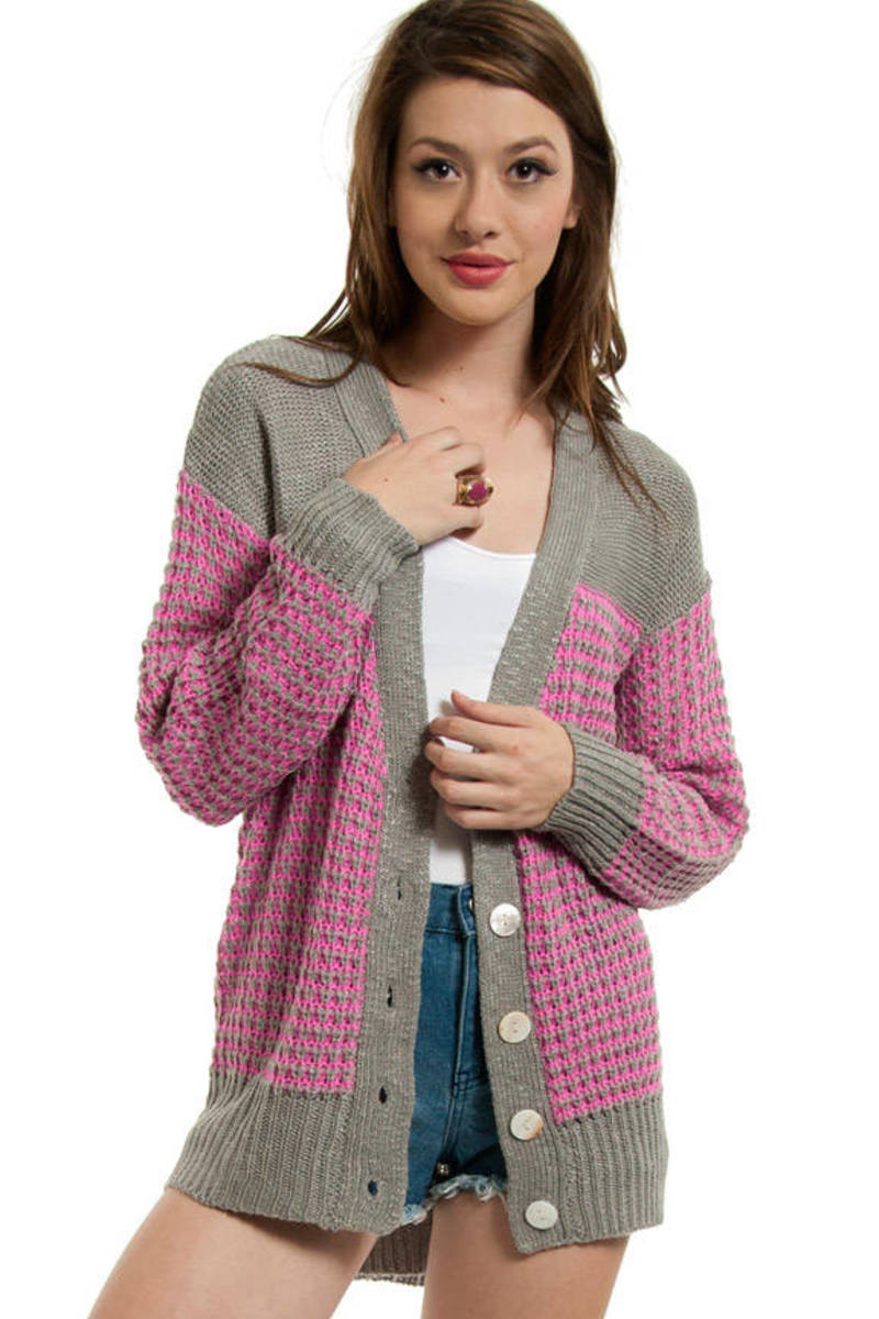 Knit In Cardigan