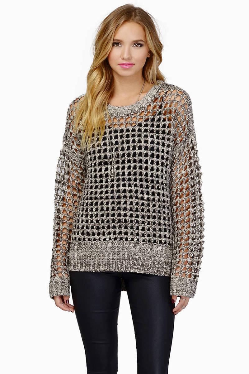 Anetta Grey Sweater