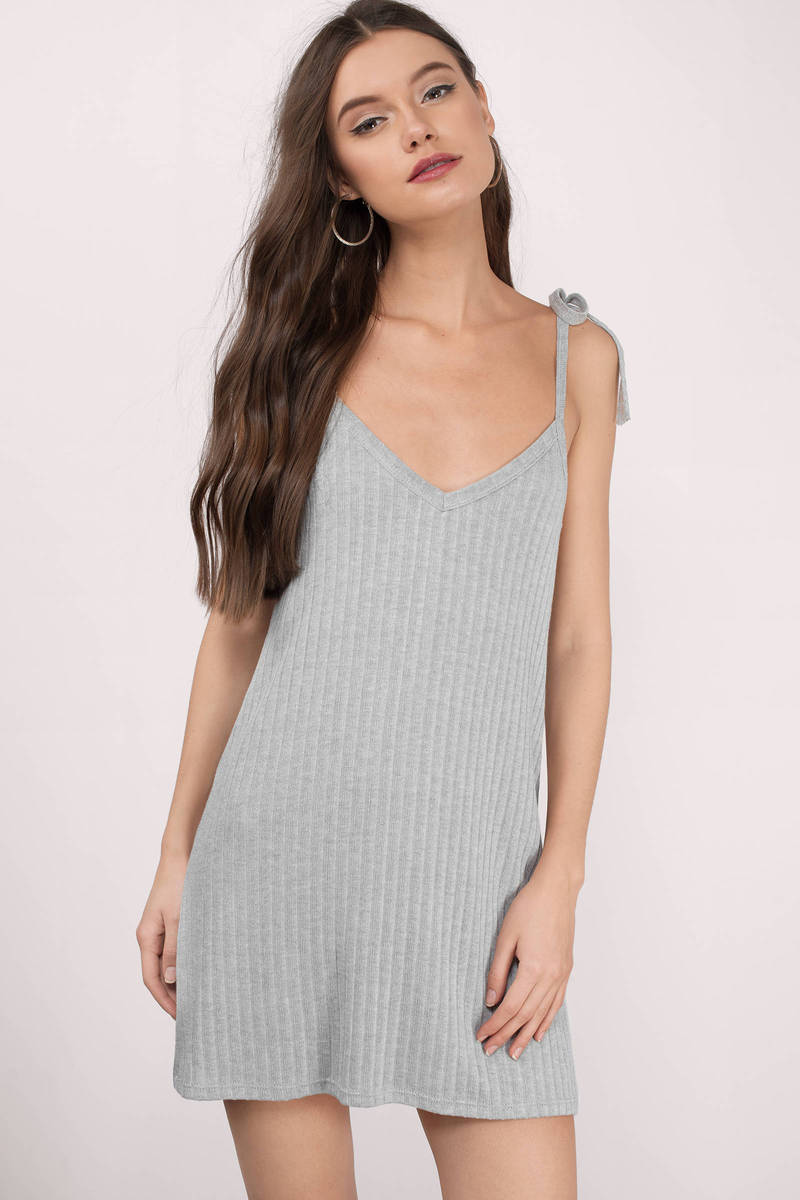 Bell Grey Shift Dress