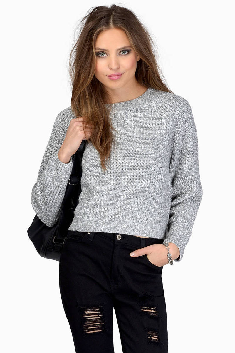 Beverly Crop Sweater