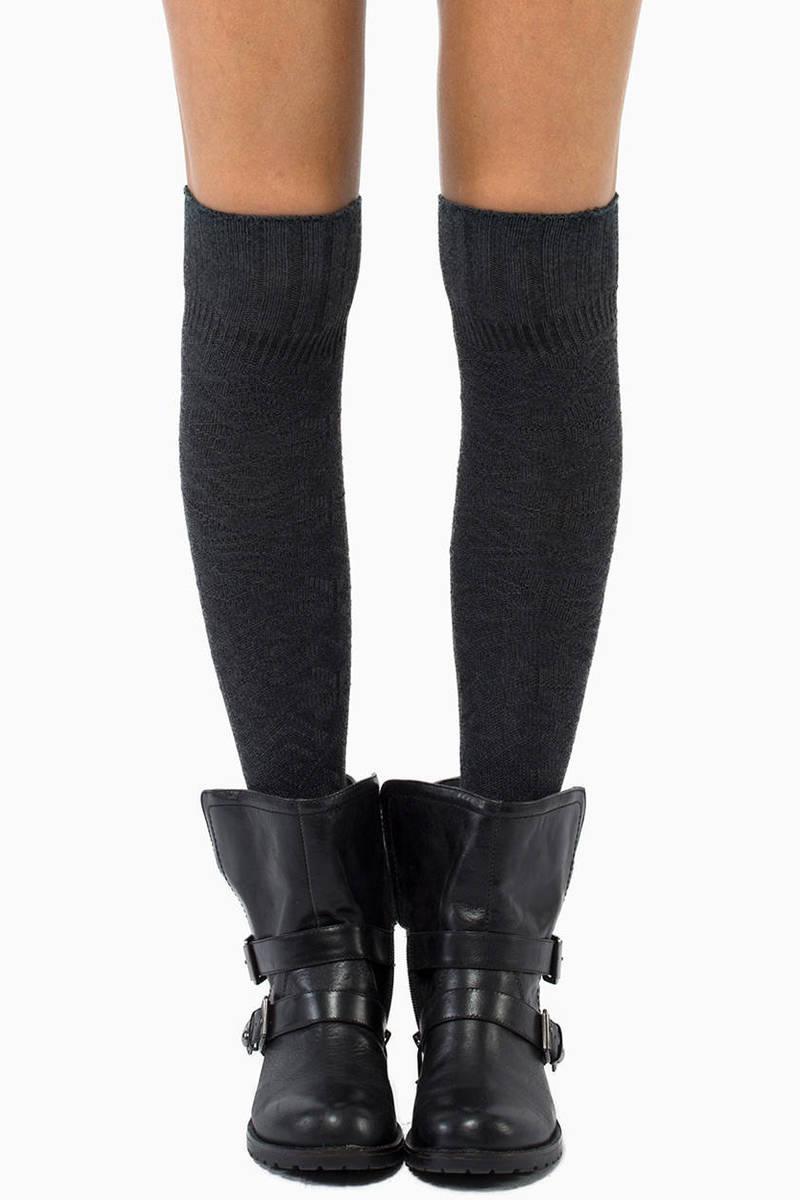 Cabin Fever Knee High Socks