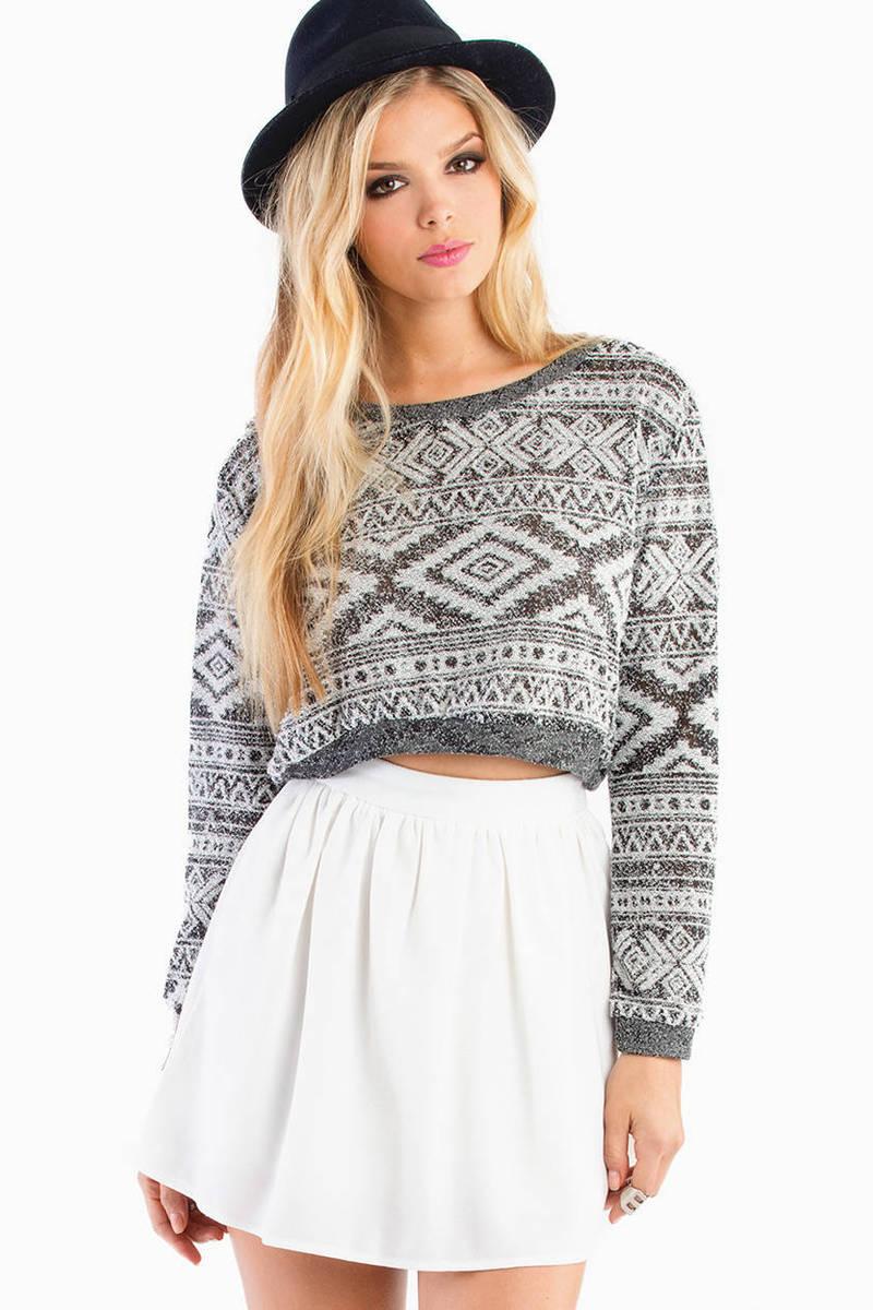 Carolina Crop Sweater