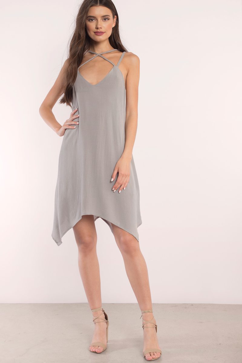 Eden Mauve Shift Dress