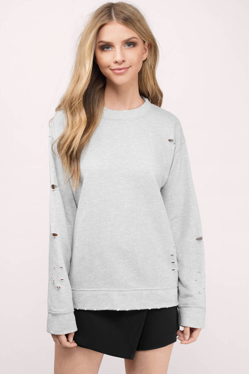 Erica Grey Sweatshirt