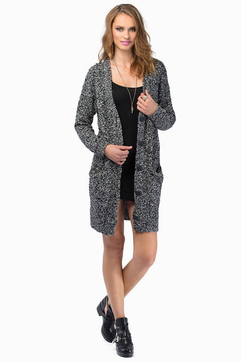 Eyes Closed Cardigan