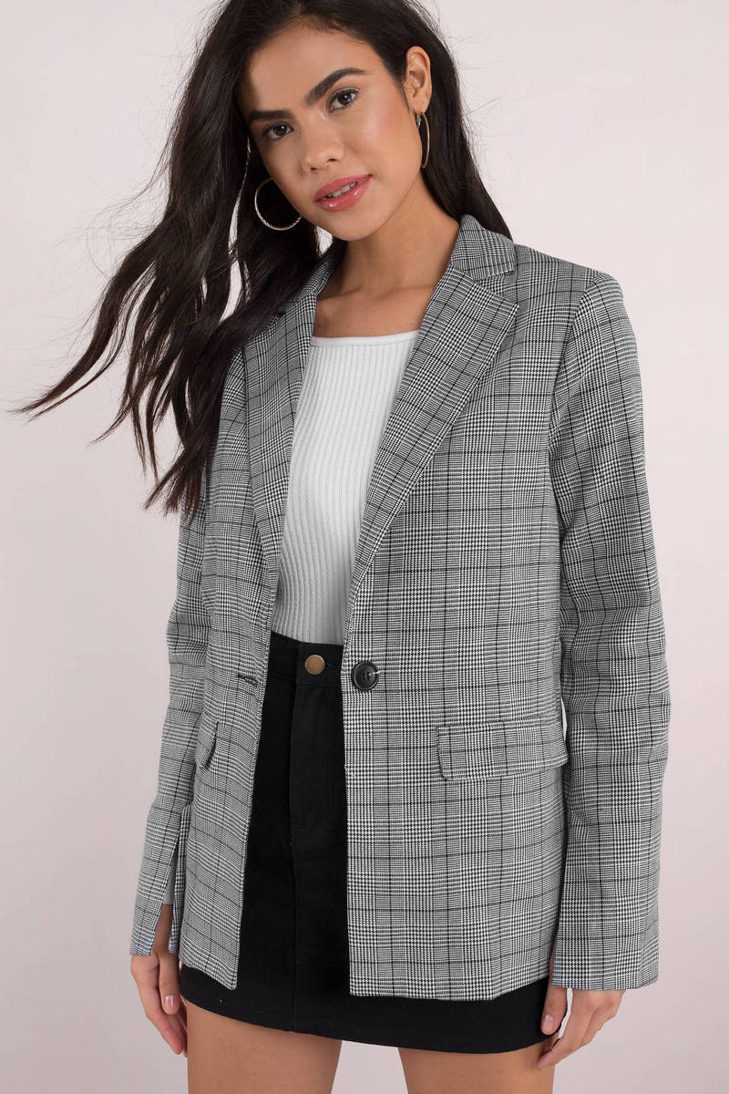 Greylady S Hearth February 2014: Professional Plaid Blazer