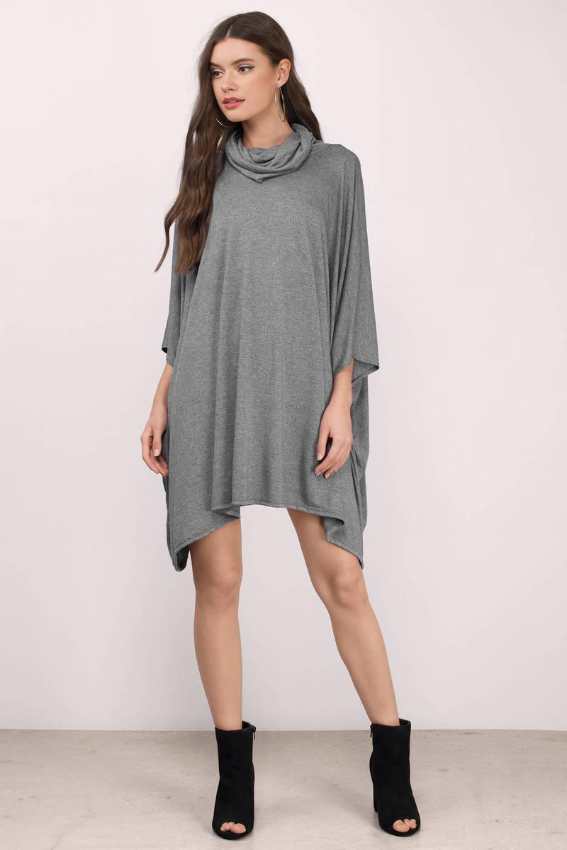 Grace Grey Shift Dress