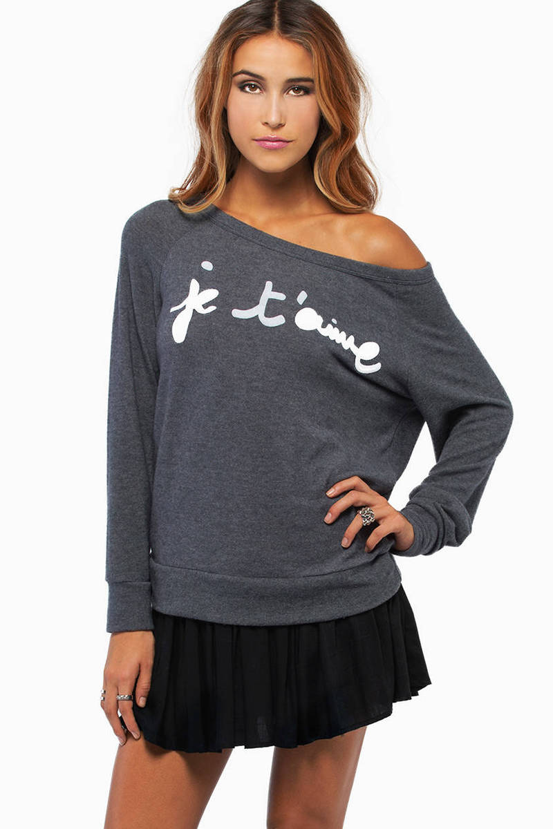 Je t'aime Sweater