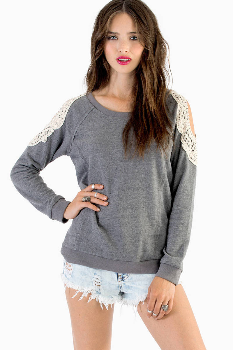 Laced With Grace Sweater
