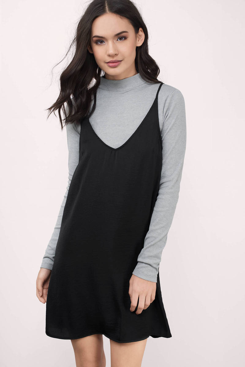 Mariella Grey Rib Knit Top