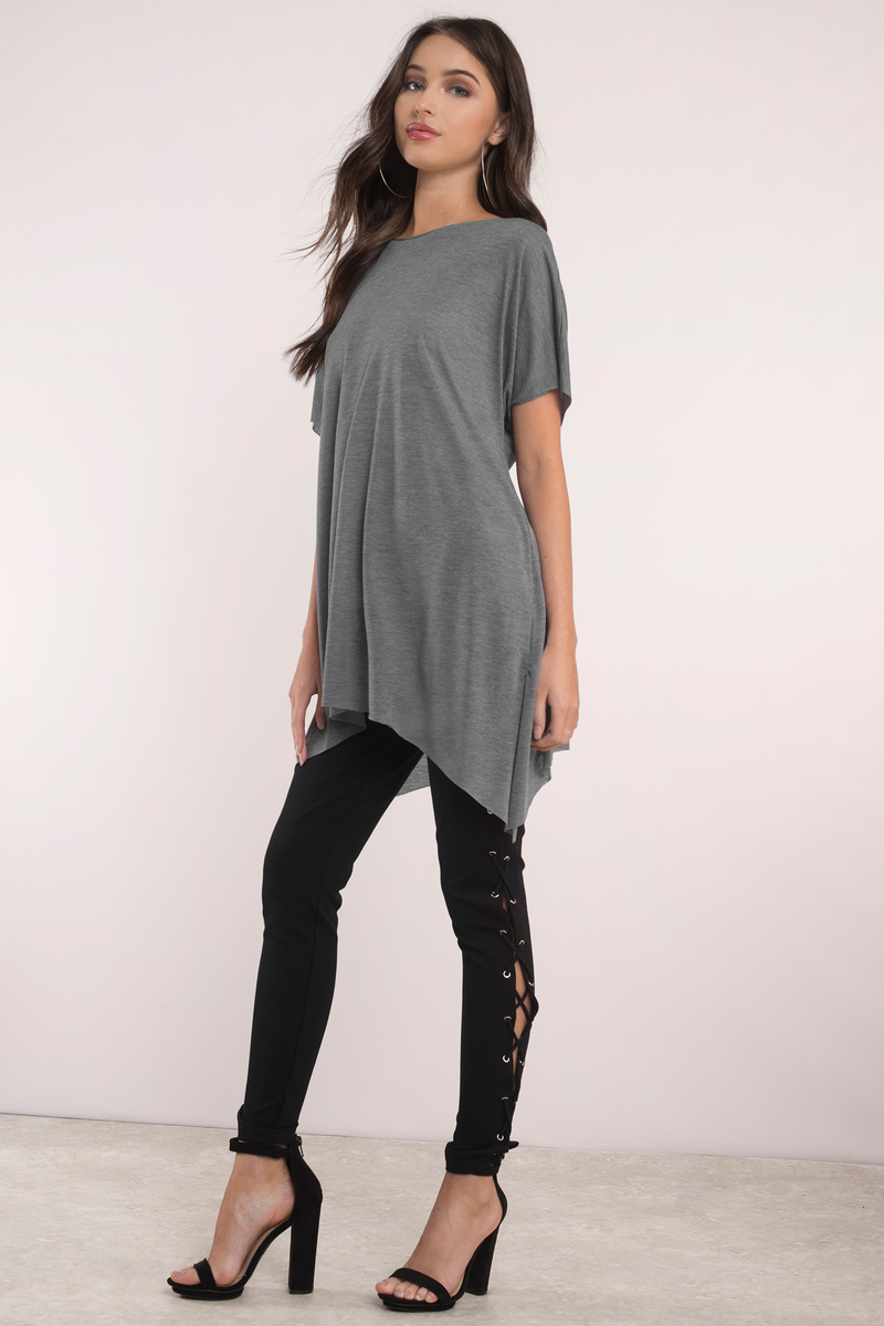 Cute black top boat neck top black top black tee for Is a tunic a dress or a shirt