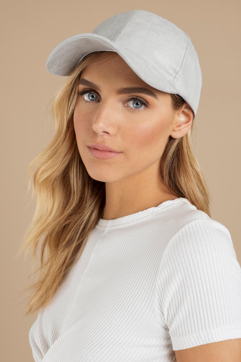 Reese Grey Baseball Cap