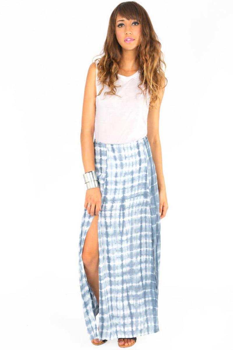 River Runs Maxi Skirt