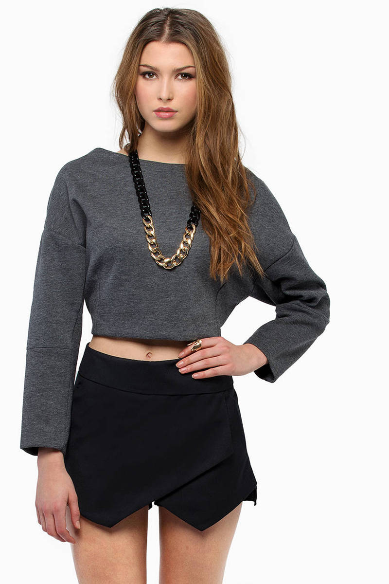 Shifty Jenica Grey Sweatshirt