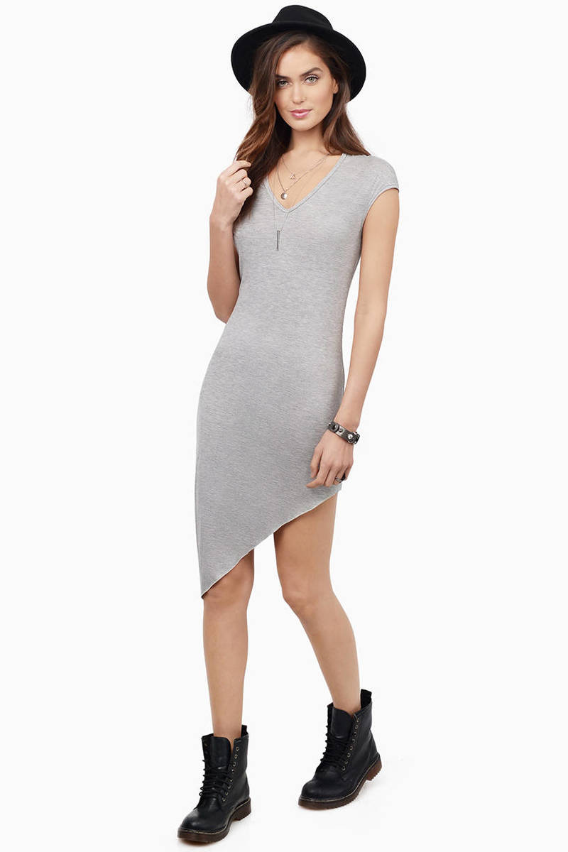 Trendy Grey Cocktail Dresses