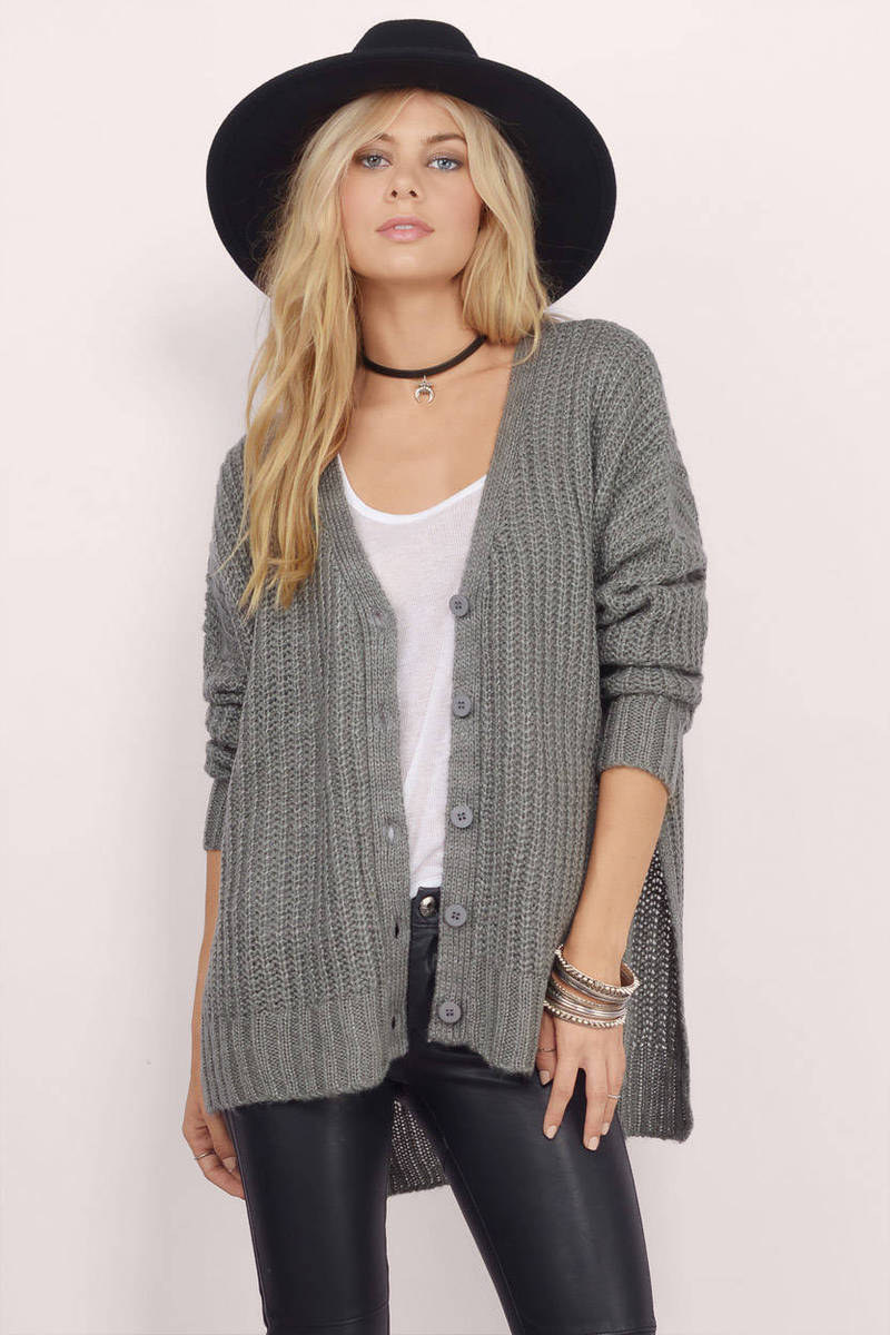 Simply Sweet Navy Knitted Cardigan