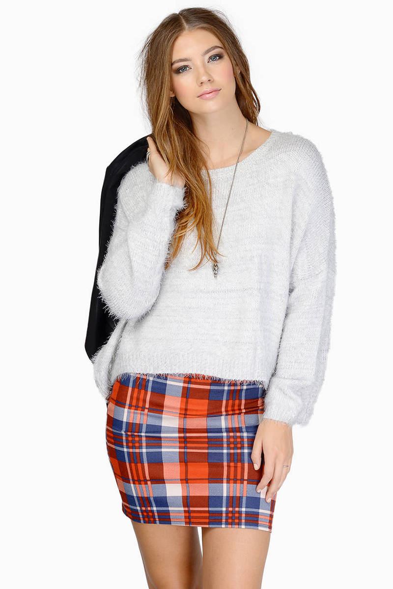 Softer Side Grey Knitted Sweater