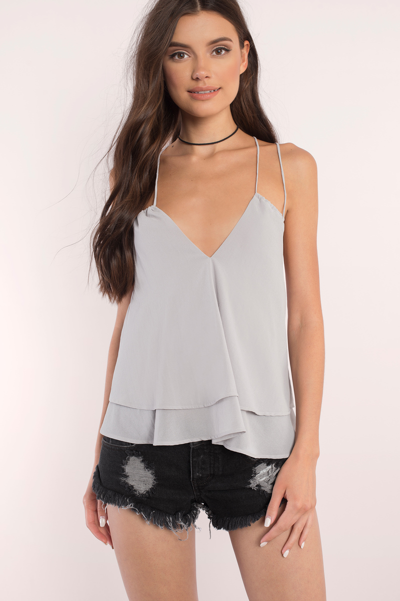 Sophy Taupe Top