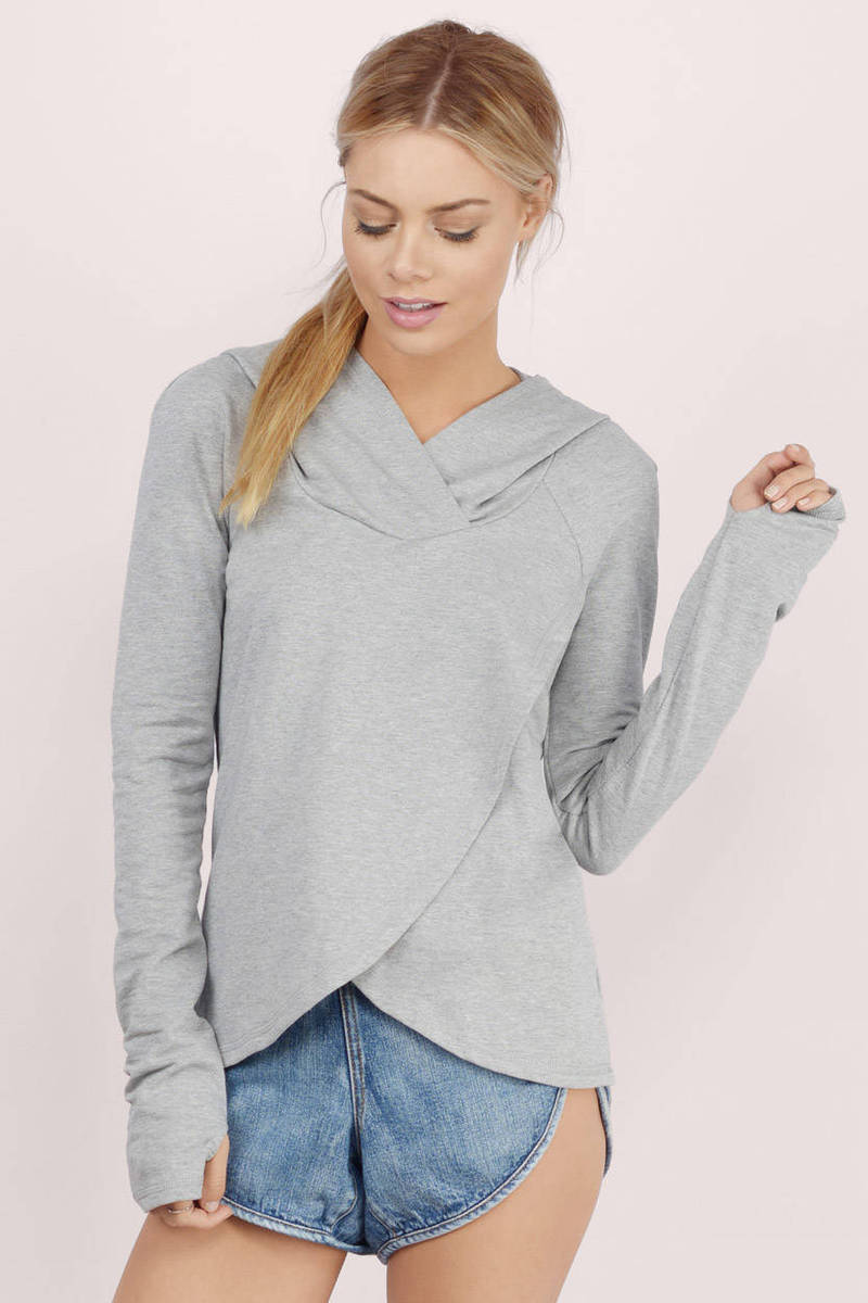 Within Due Time Grey Hoodie