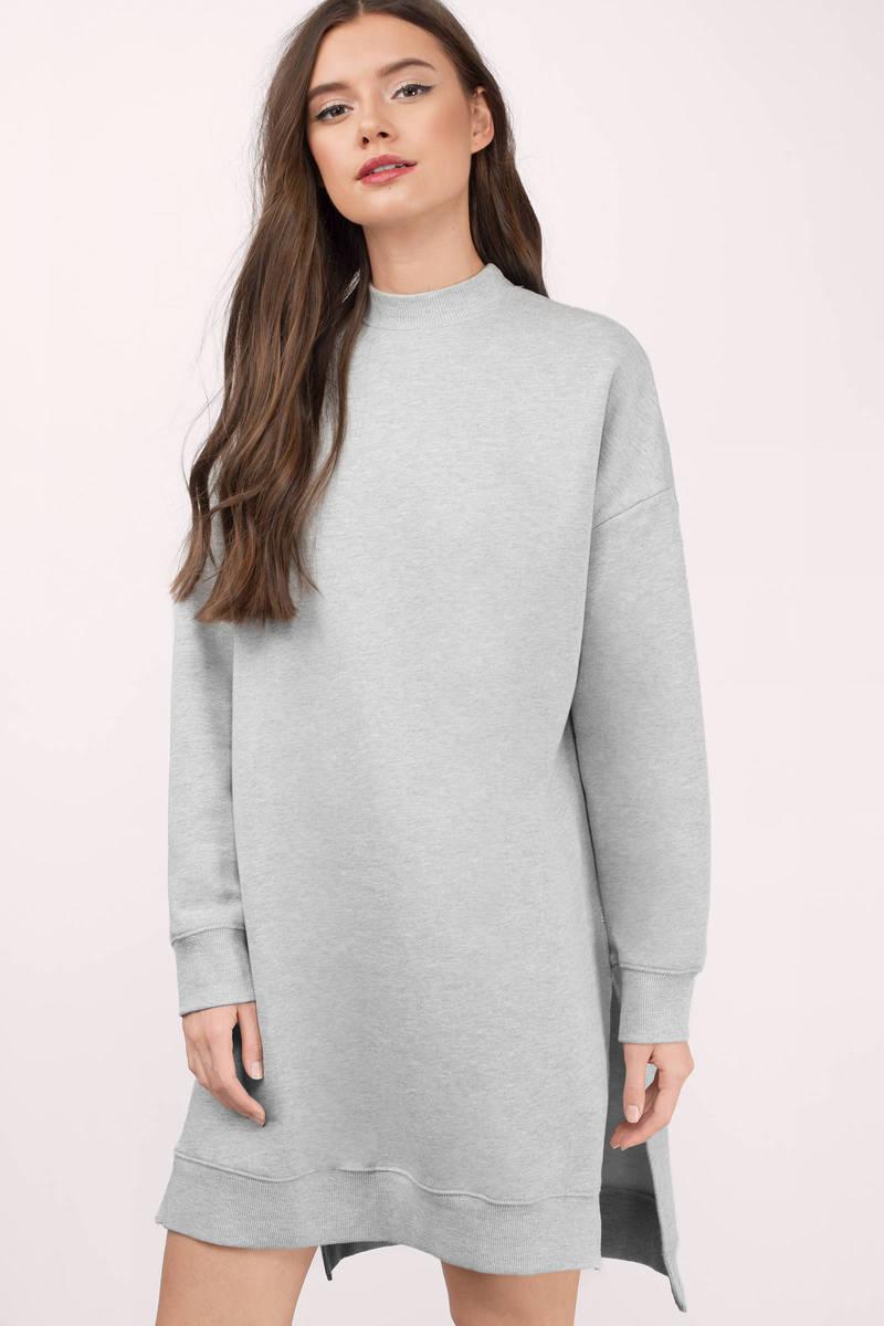 NYTT Nytt Laura Heather Grey Sweatshirt