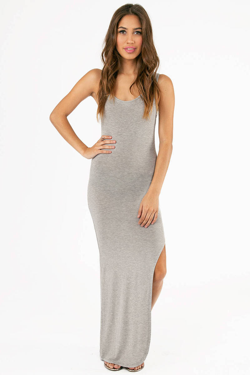Slit On My Side Maxi