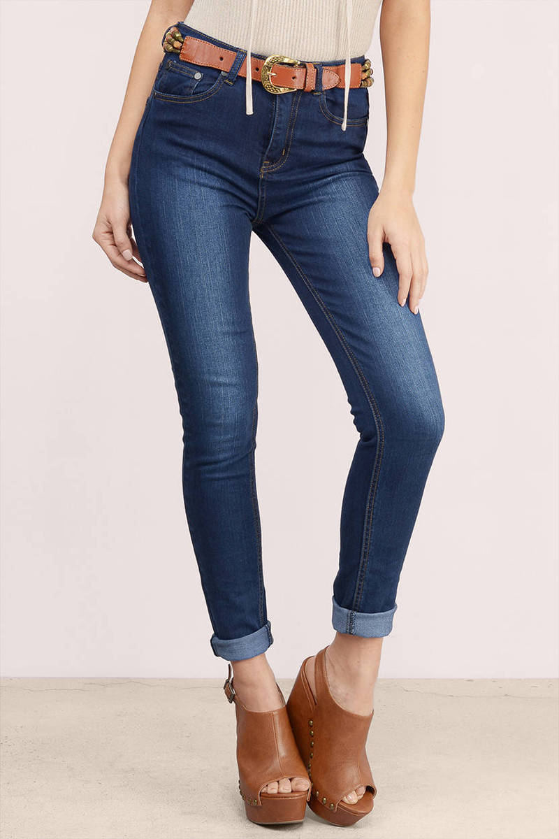 Doheny Huntington Cuffed Mid Rise Jeans