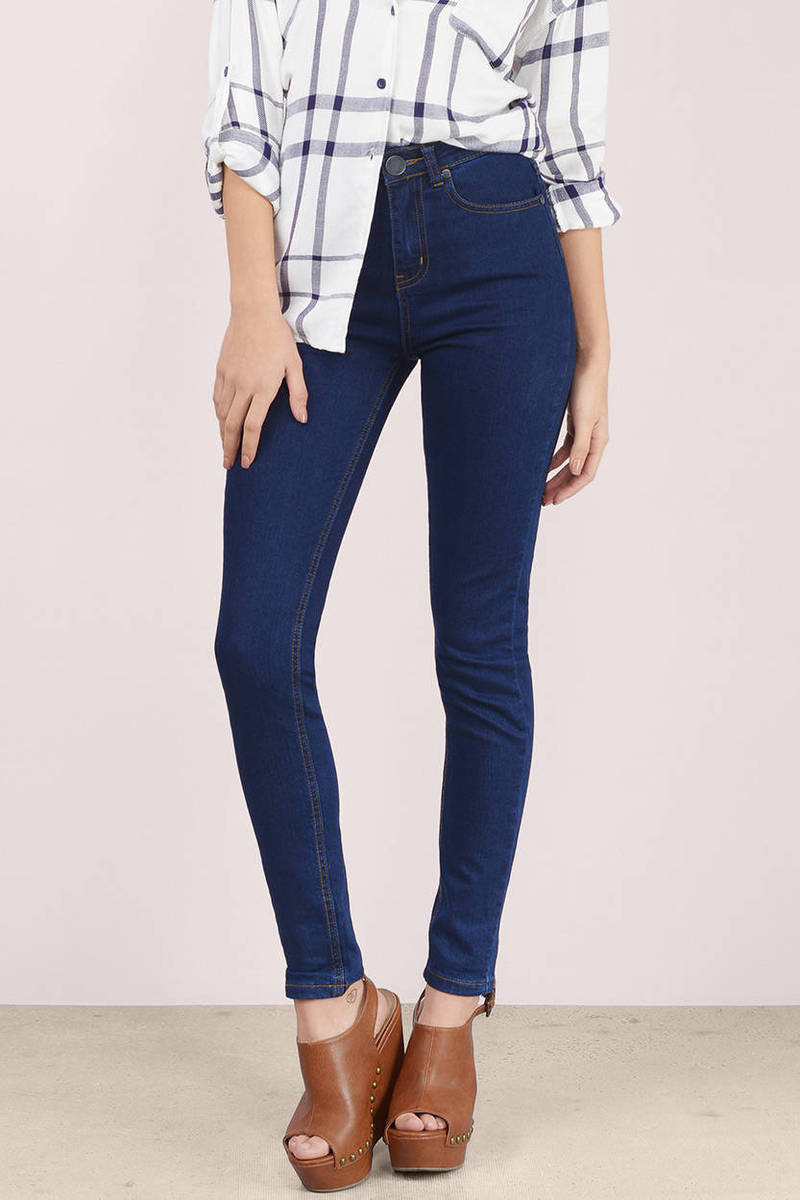 Rodeo Imperial Denim High Waisted Skinny Jeans