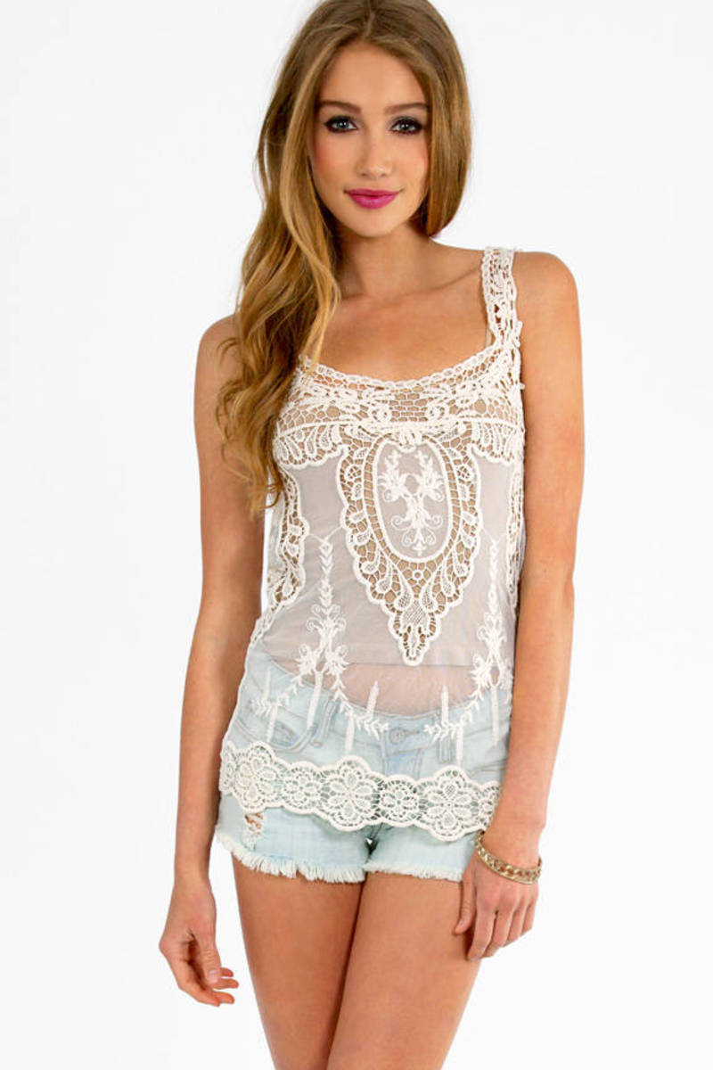 All Over The Lace Top