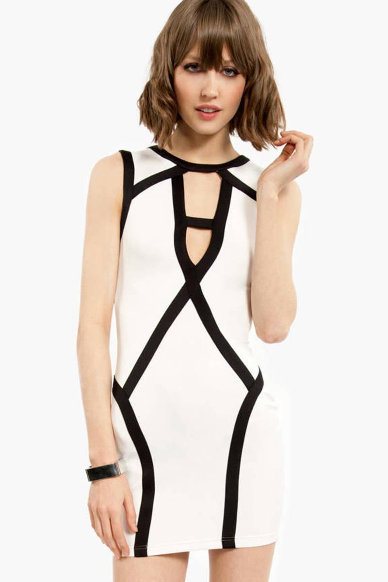 Cut It About Dress