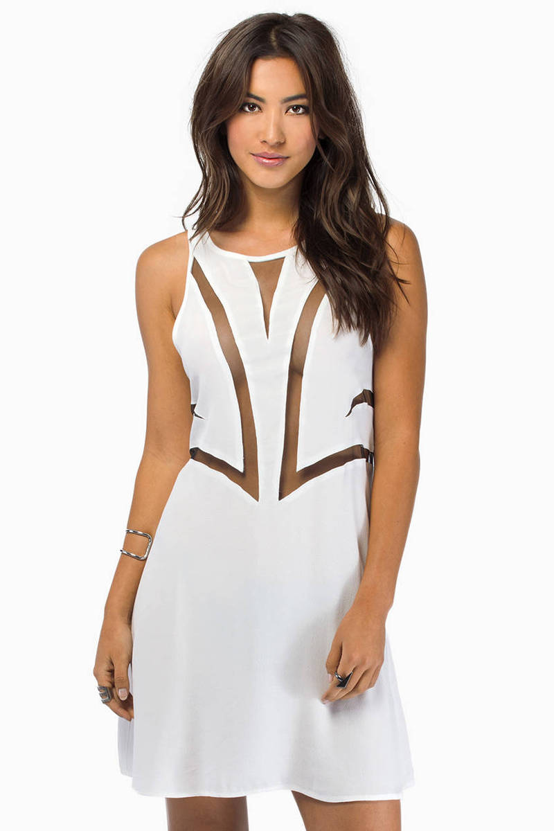 Bless'ed Are the Meek Fine Lines Dress