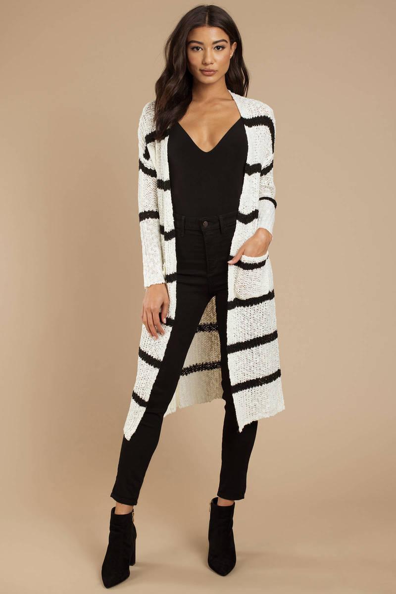 e51762d6 Roseta Striped Knit Cardigan