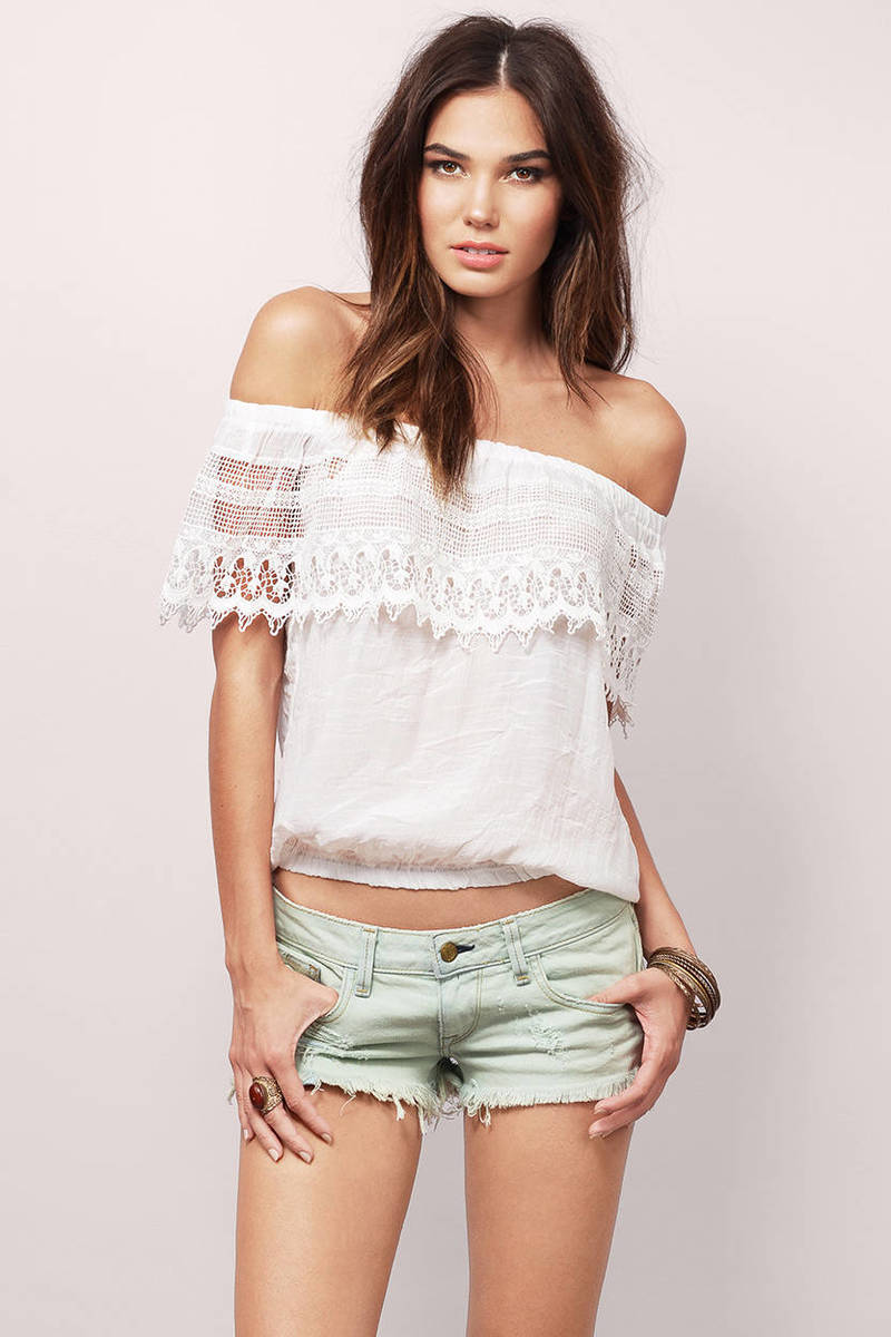 Carrie Ivory Blouse