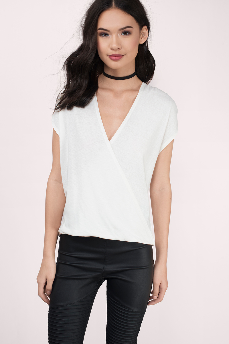 Catelyn Ivory Tee