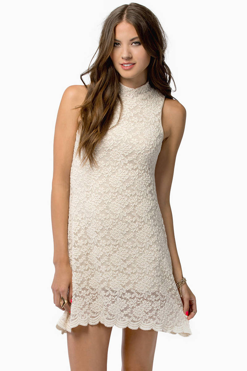 Celeste Ivory Lace Bodycon Dress