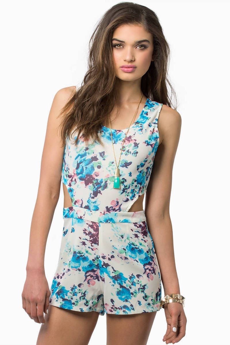 Early Bloomer Romper