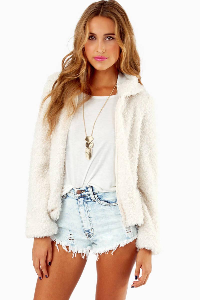 Fuzz It Zip Up Jacket