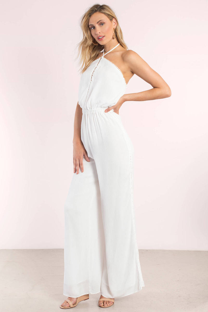 The Jetset Diaries  Golden Island Ivory Jumpsuit