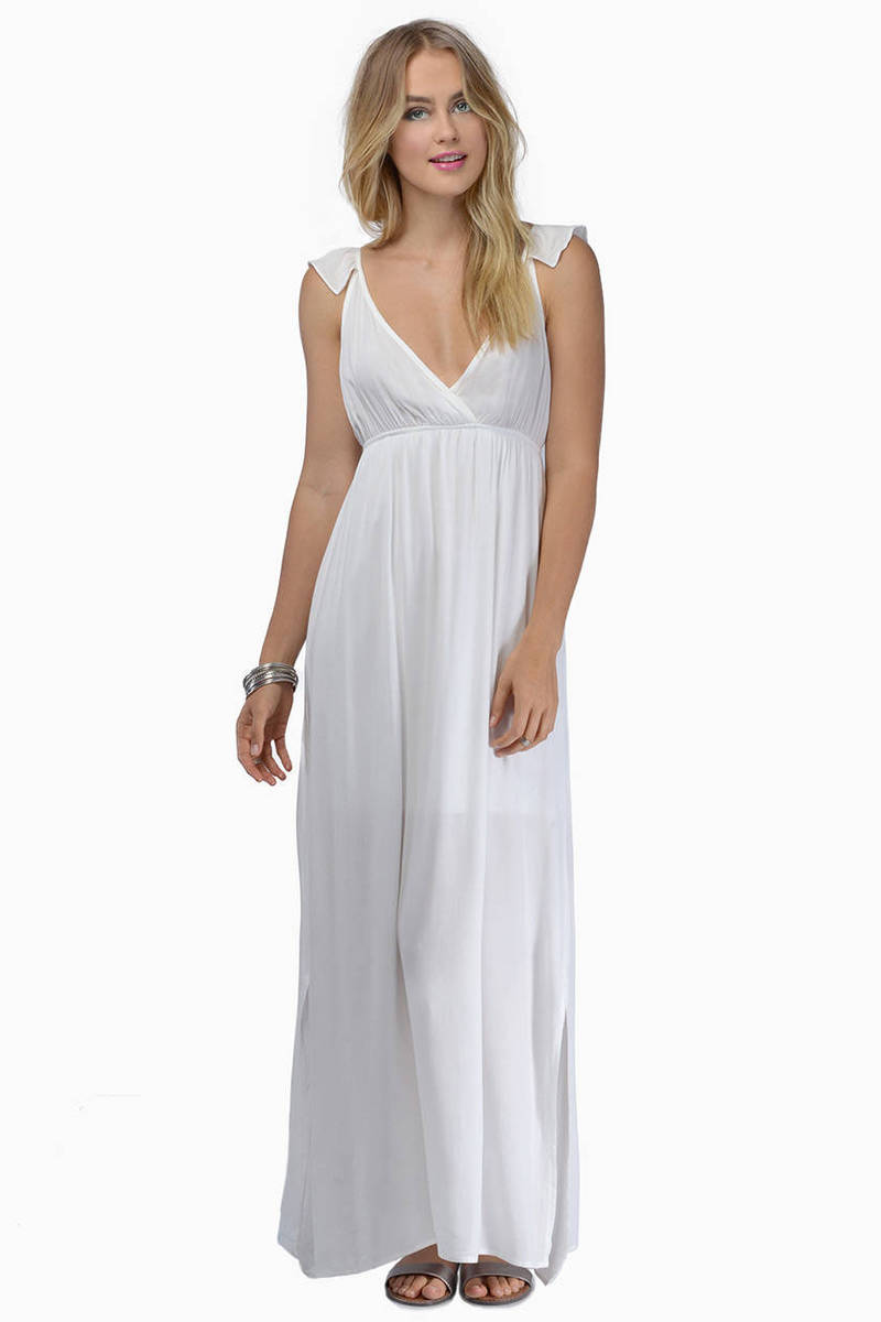 Hearts Aflutter Maxi Dress