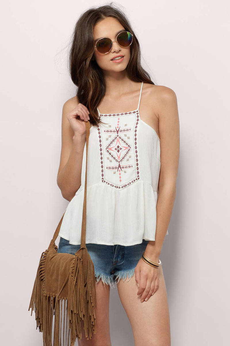 Its Breathtaking Ivory  Tank Top