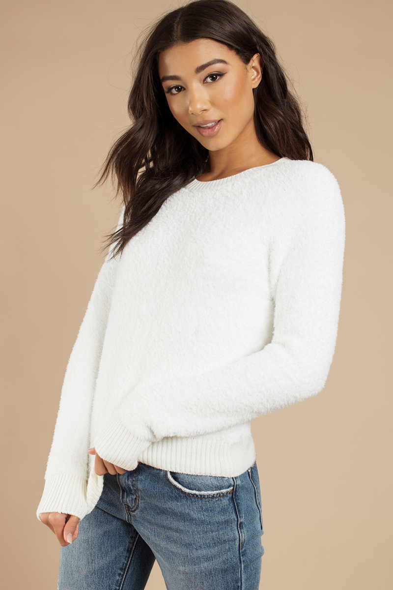 Just Jane Ivory Sweatshirt