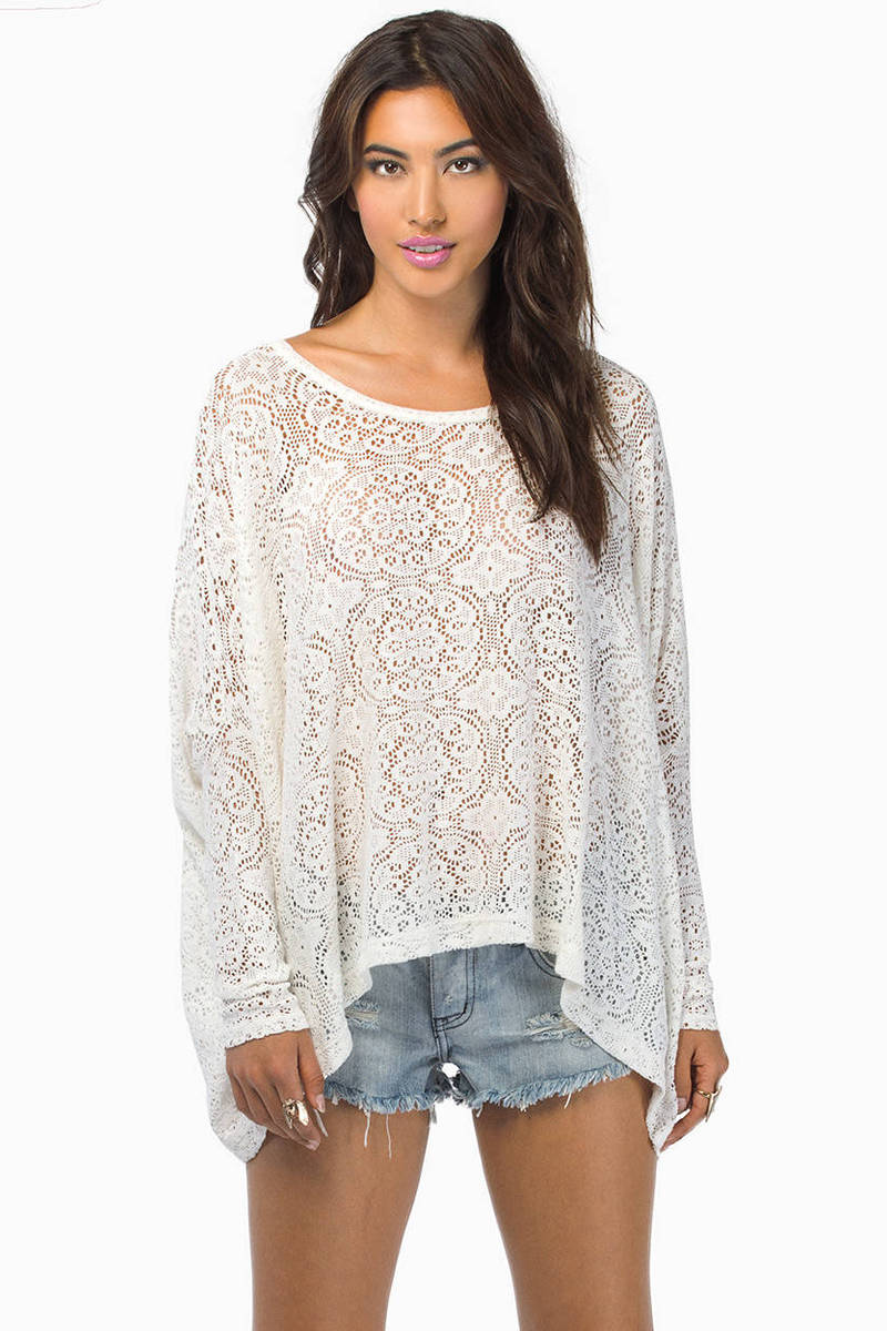 Laced in Shadows Top