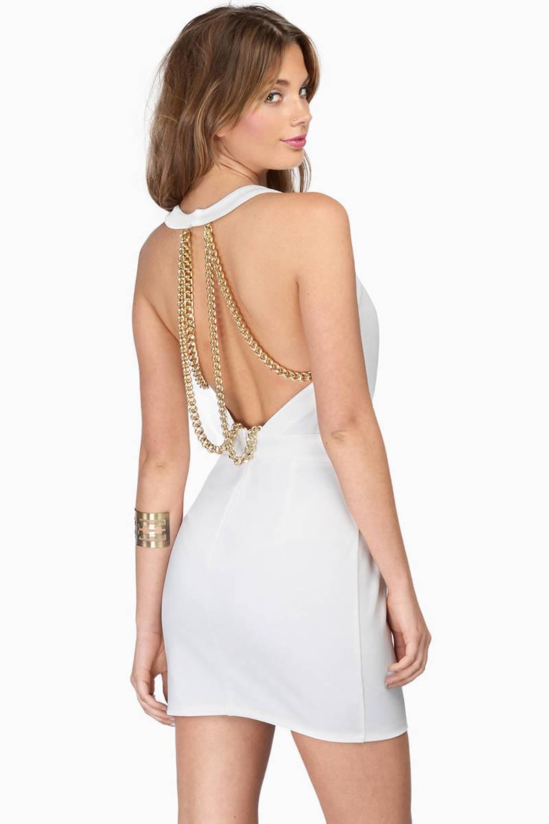 Sexy ivory dresses