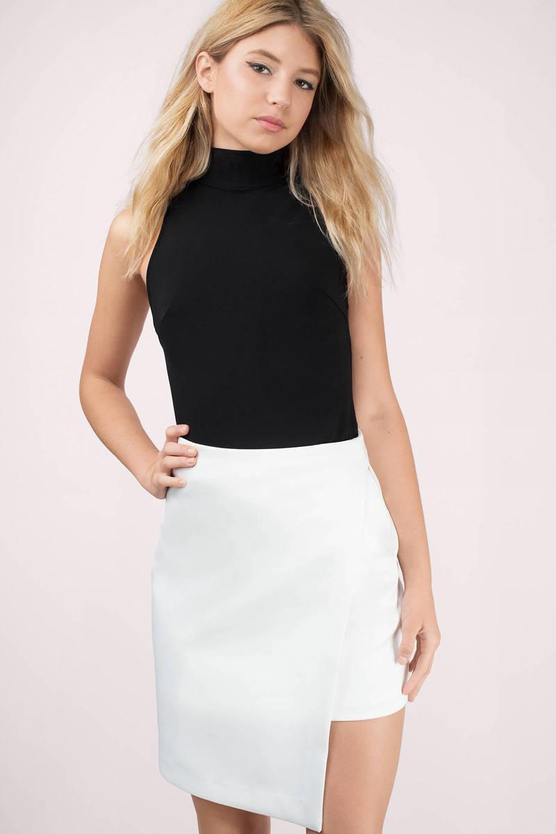 Bless'ed Are the Meek Mist Asymmetrical Skirt