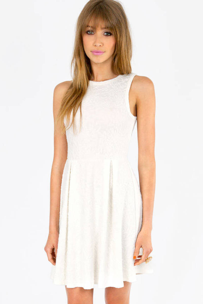 Raised Right Skater Dress