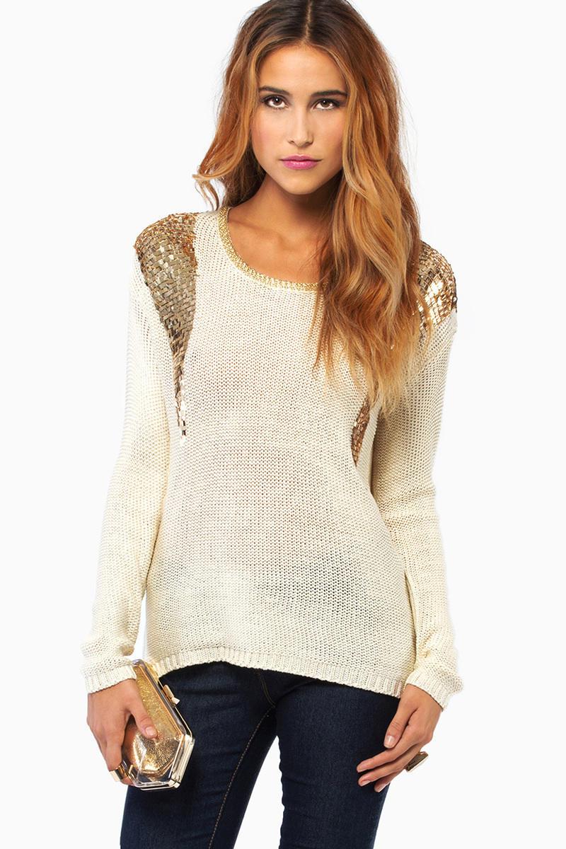 Rendevouz Long Sleeve Sweater