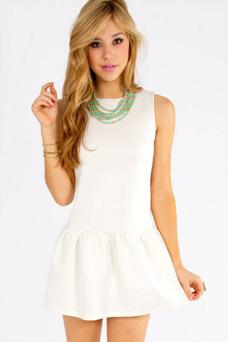 Ruffled Belle Dress